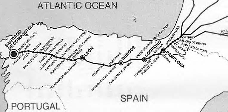 Backpack45 - Walking the Camino de Santiago (Camino Francés) - what on